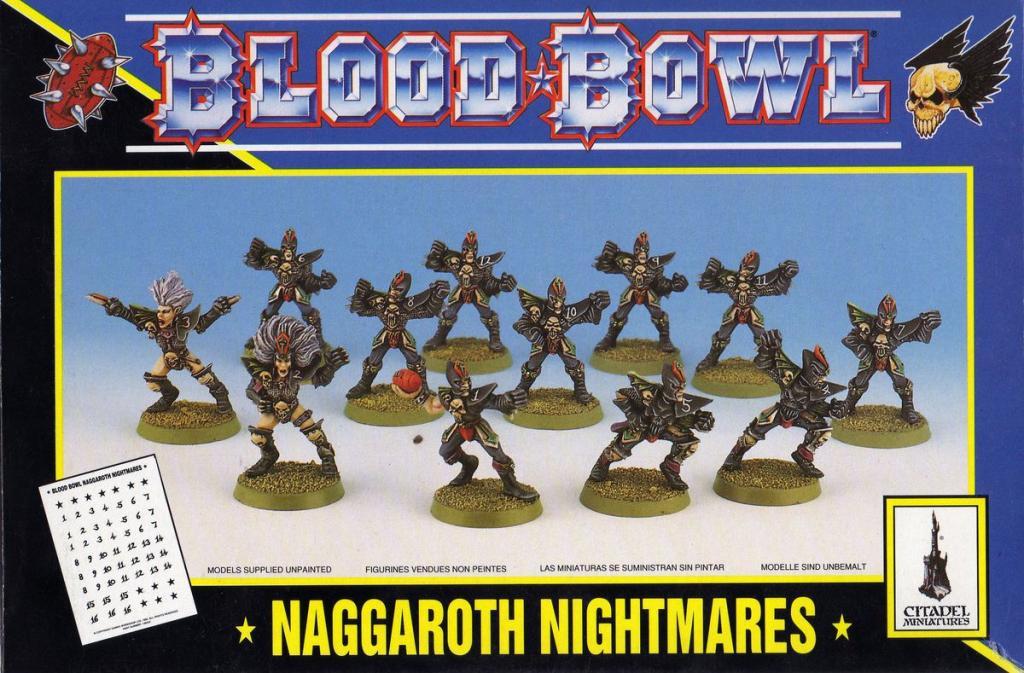 Blood Bowl 3è édition - Naggaroth Nightmares