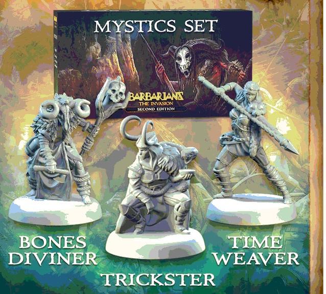 Barbarians : The Invasion - Mystics Set