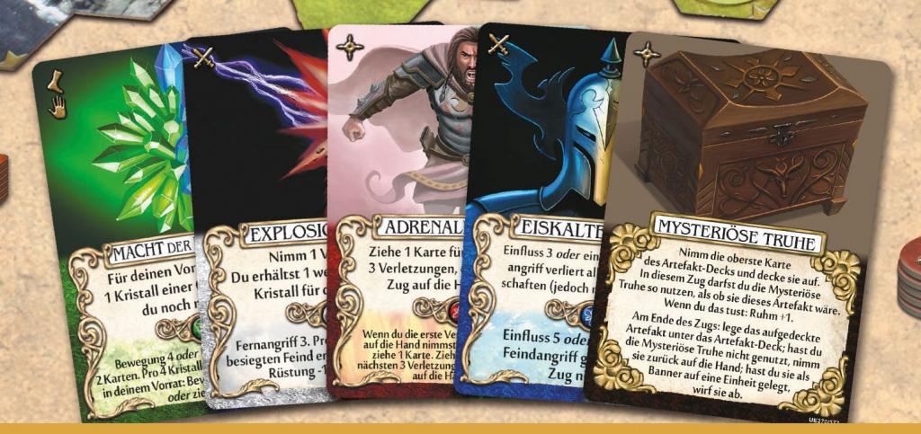 Mage Knight - Dual Color Cards Expansion