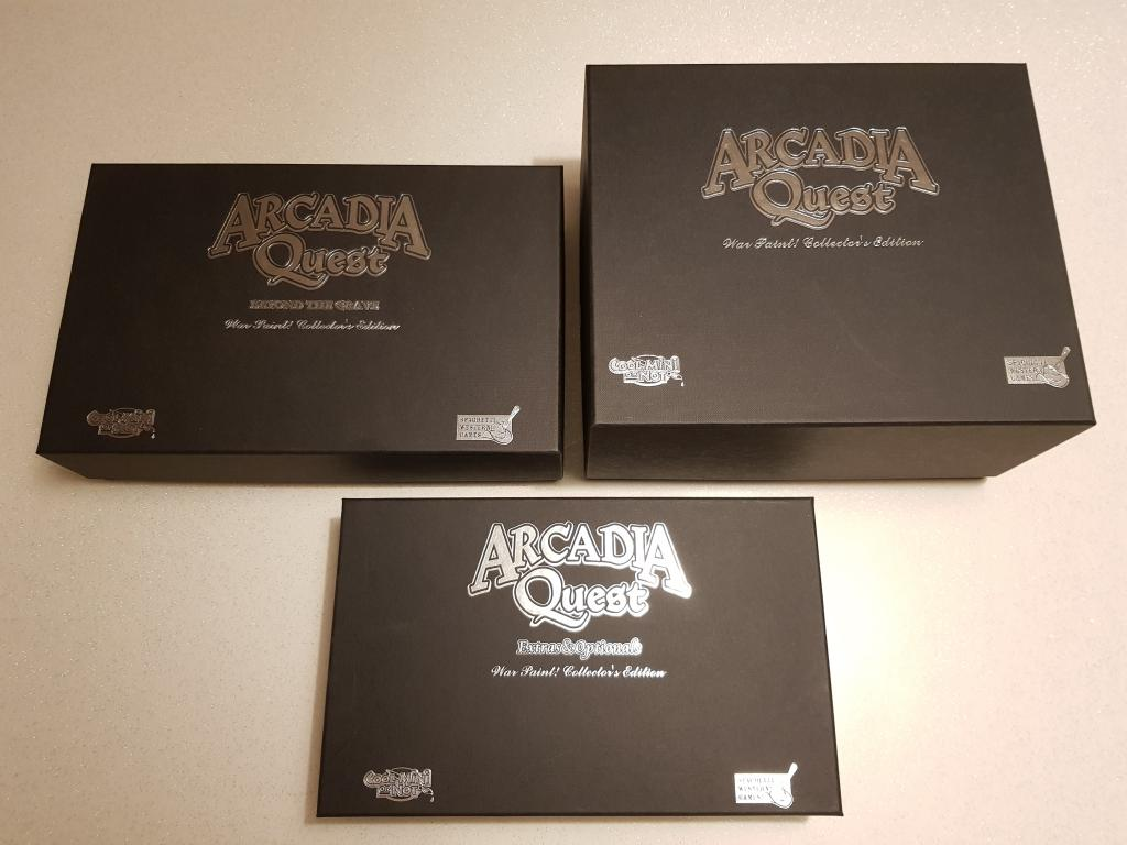 Arcadia Quest - War Paint Limited Edition