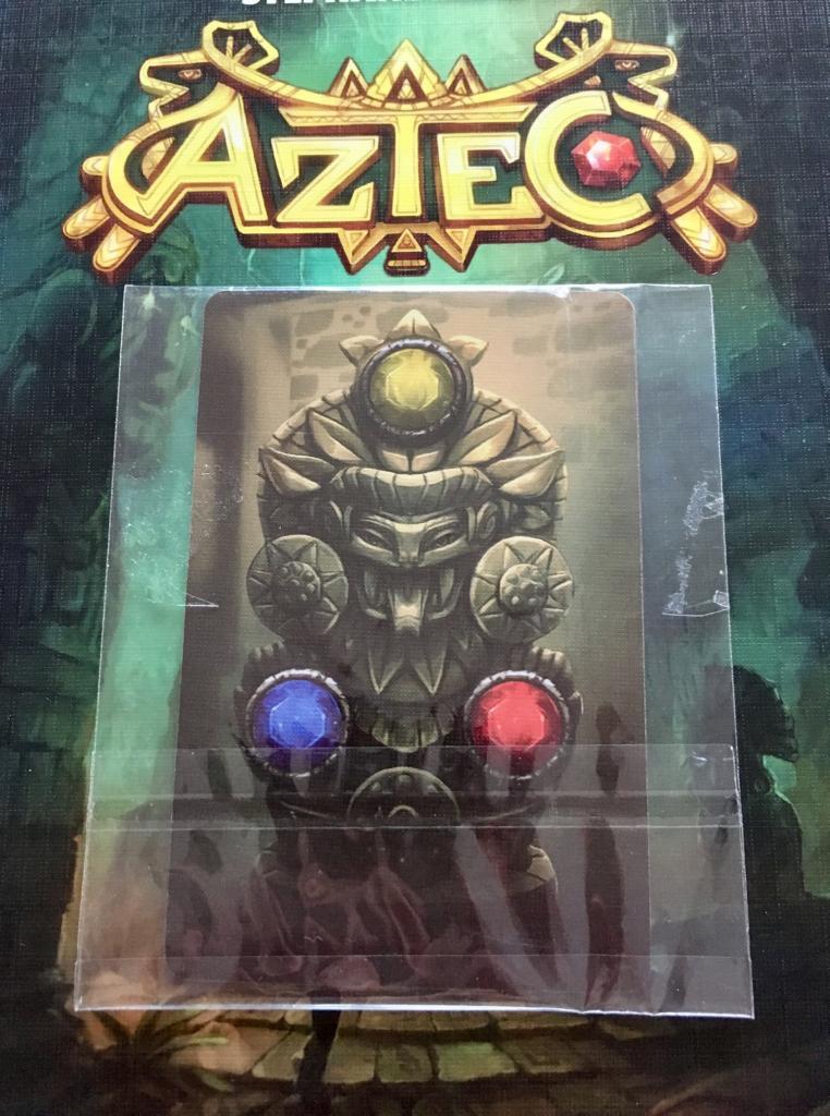 Aztec - Carte Triple Joyaux