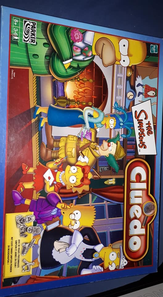 Cluedo Les Simpsons