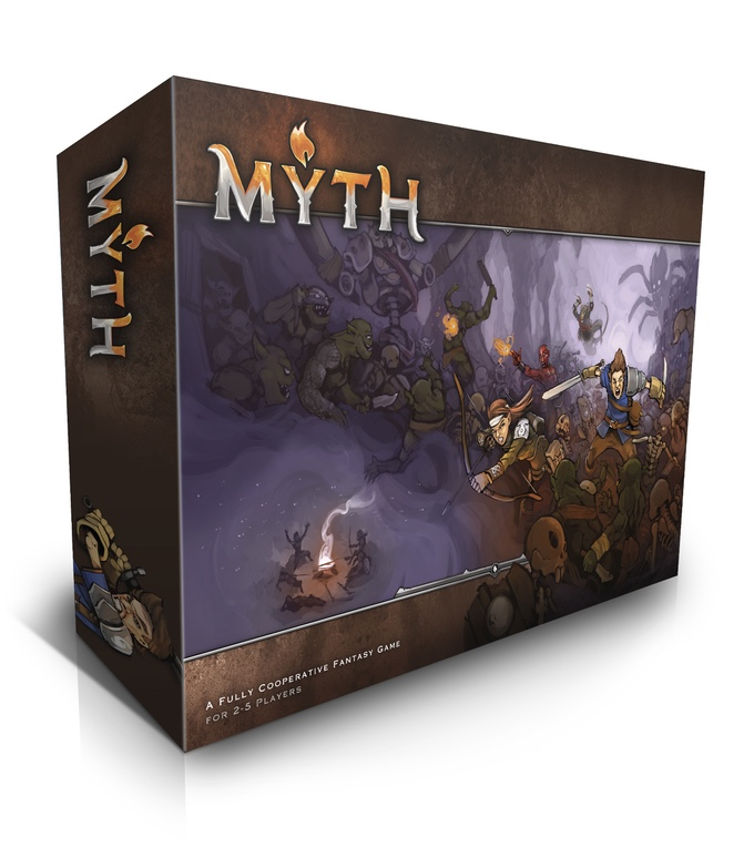 Myth - Captain Pledge Kickstarter Vo