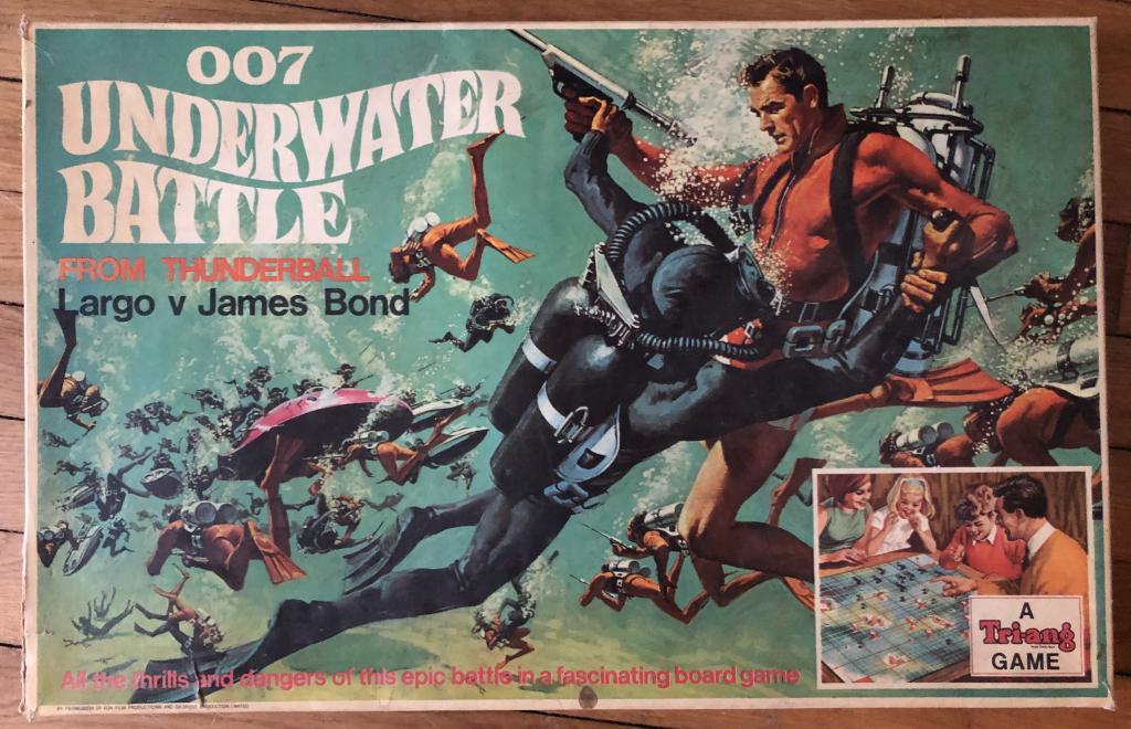 007 Underwater Battlelargo V James Bond Thunderball
