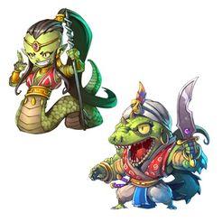 Arcadia Quest - Rosh & Mamba
