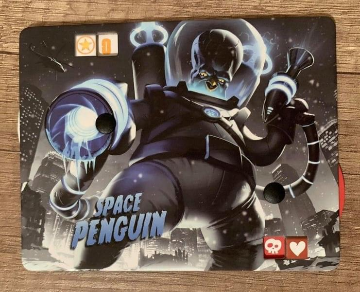 King Of Tokyo - Space Penguin Dark édition