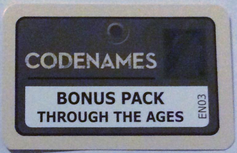 Codenames - Bonus Pack : Through the Ages