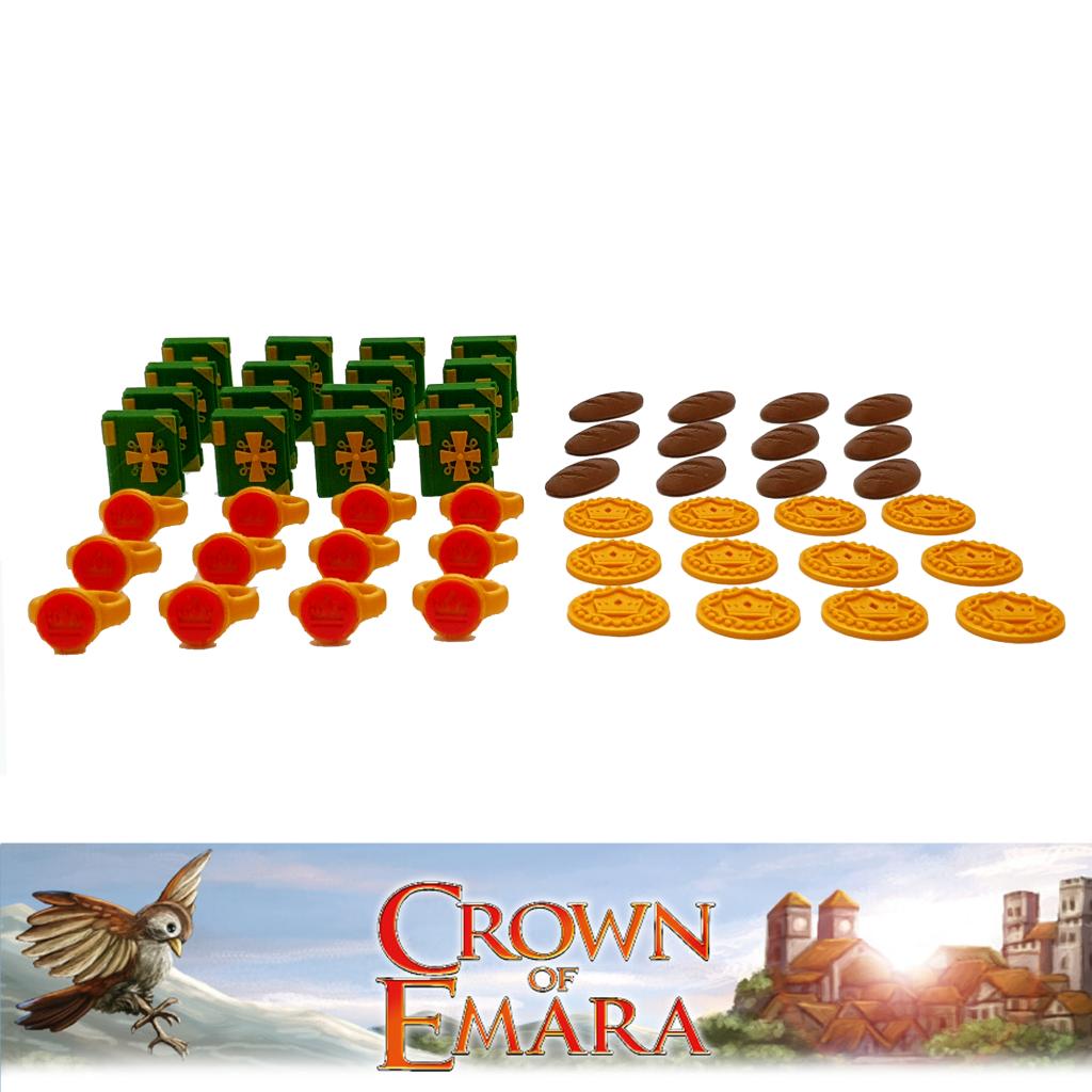 La Couronne D'emara - Jetons Ressources