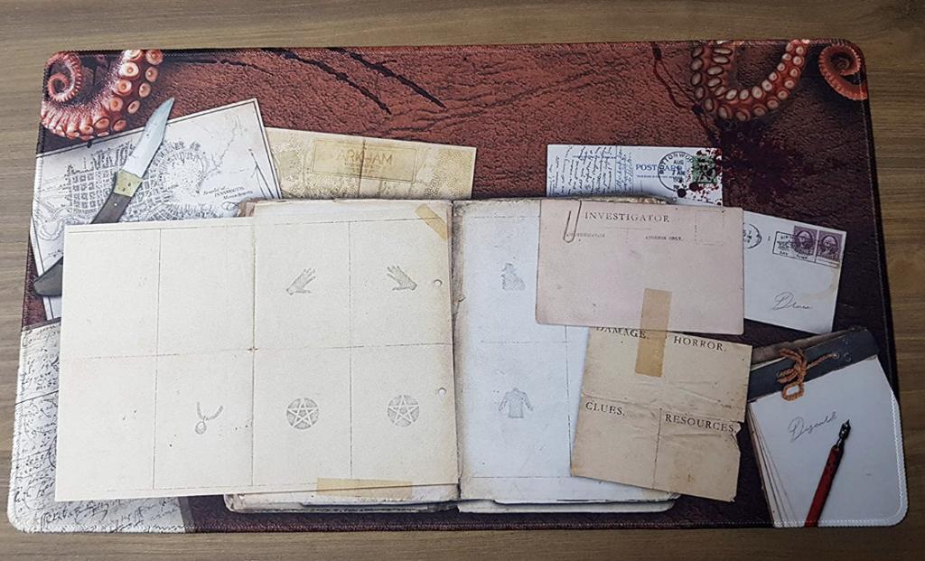 Horreur à Arkham - Le Jeu De Cartes - Tapis De Jeu