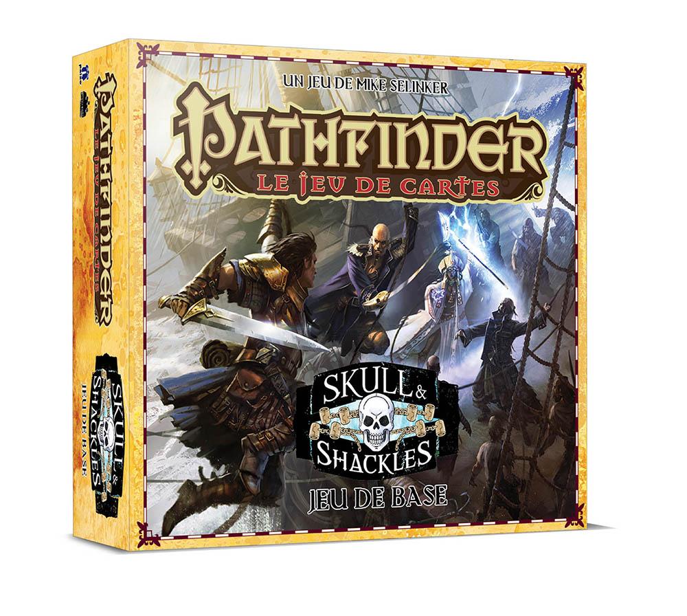 Pathfinder - Le Jeu De Cartes: Skull & Shackles - Boite De Base