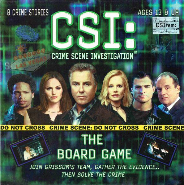 Csi: The Board Game