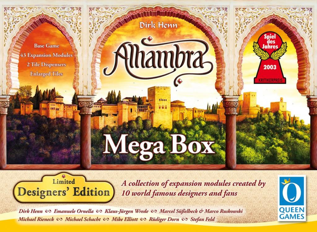 Alhambra Limited Designers' Edition – Mega Box