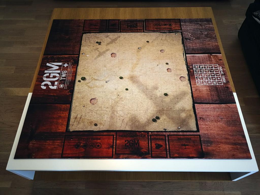 2GM Tactics - Playmat (75 X 75 Cm)