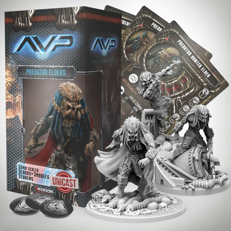 Avp The Hunt Begins 2nd Edition Predator Elders