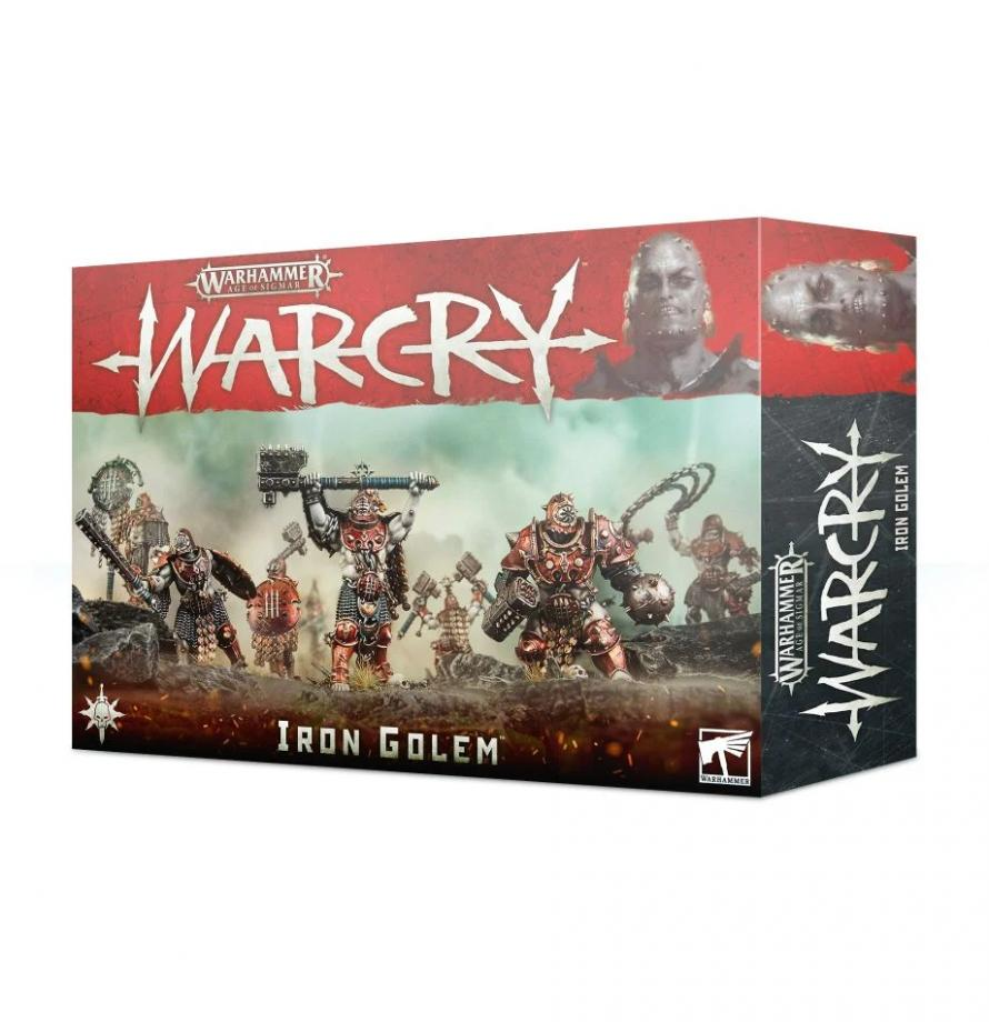 Age Of Sigmar: Warcry - Iron Golem