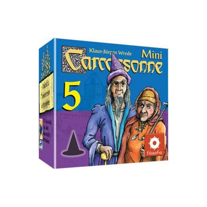 Carcassonne : Mini Extension 5 - Magicien & sorcière