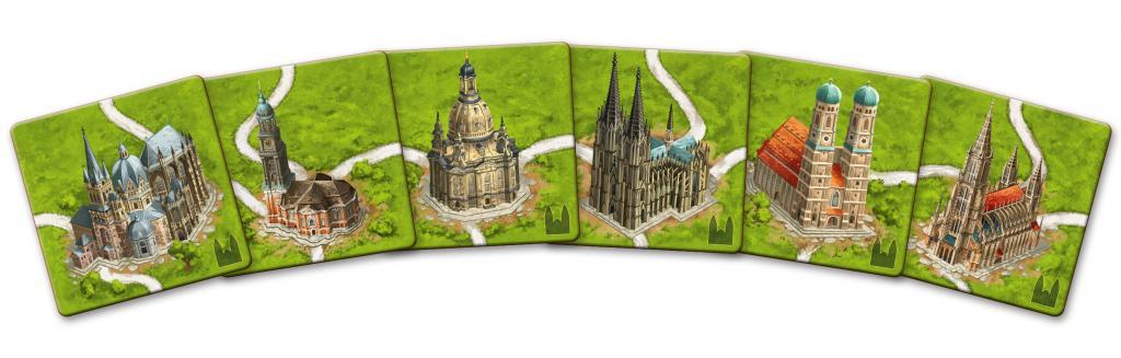 Carcassonne - Cathédrales d'Allemagne (nouvelle version)