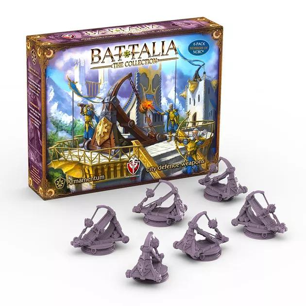 Battalia: The Creation - City Defence Weapons