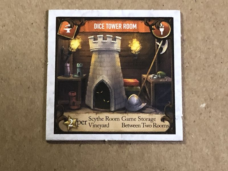 Between Two Castles Of Mad King Ludwig - Dice Tower Room