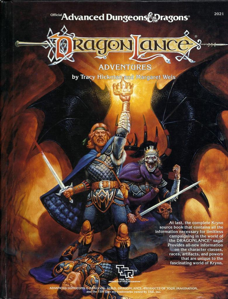 Advanced Dungeons & Dragons - 1st Edition - Dragonlance Adventures