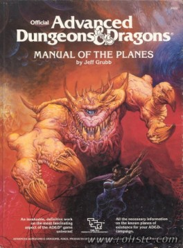 Advanced Dungeons & Dragons - 1st Edition - Manual Of The Planes