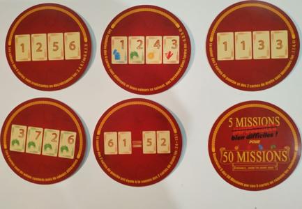 50 Missions: 5 Missions Bien Difficiles!