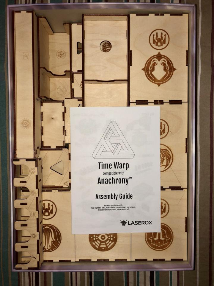 Anachrony Time Warp - Insert Laserox