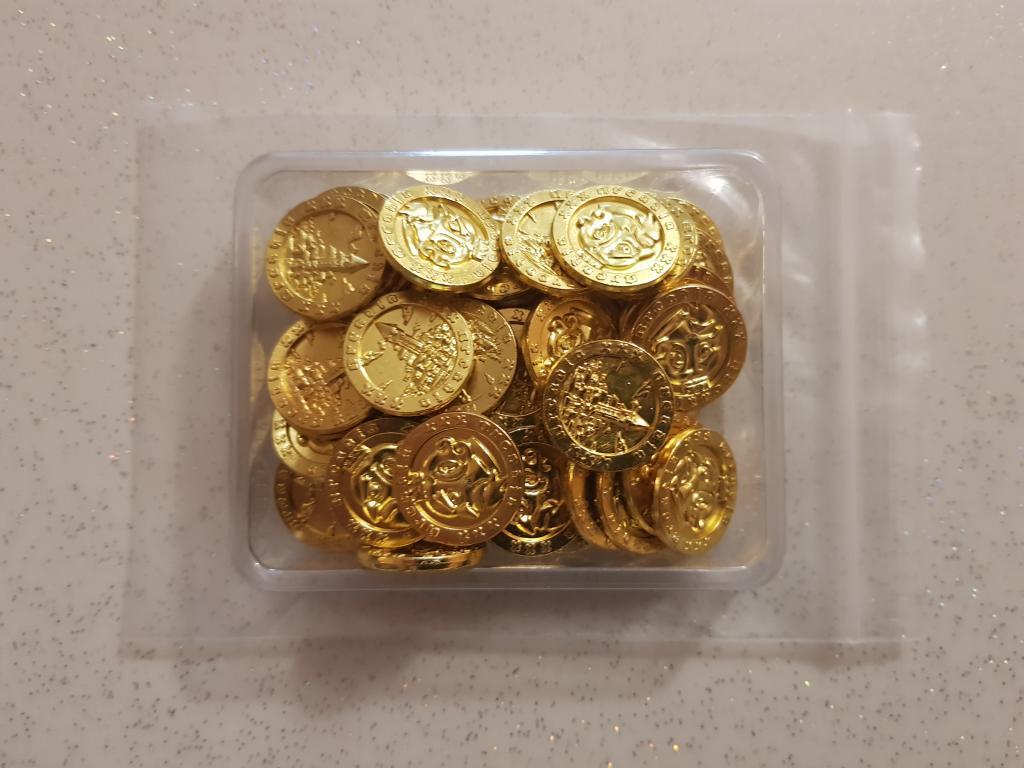 Arcadia Quest - Metal Coins Pack (pièces Métal Dorées)