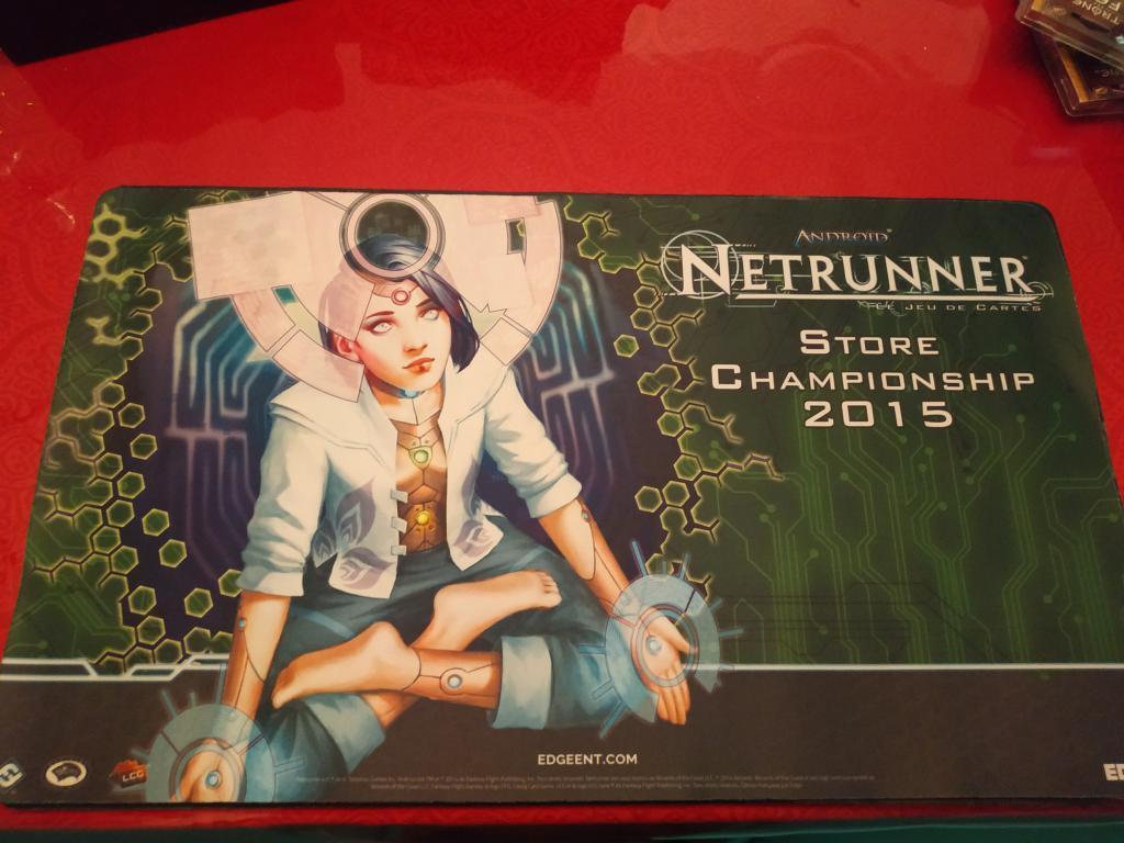 Android : Netrunner / Netrunner Jce - Tapis Jeu Netrunner
