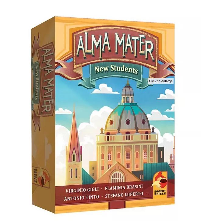 Alma Mater: New Students