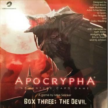 Apocrypha Card Game - The Devil