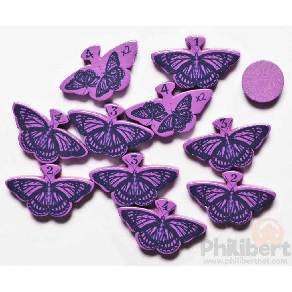 Mariposas - Papillons Violets