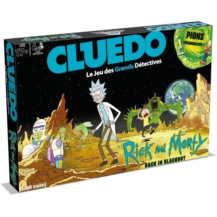 Cluedo Rick Et Morty