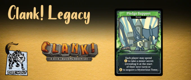 Clank! Legacy: Acquisitions Incorporated - Pledge Support