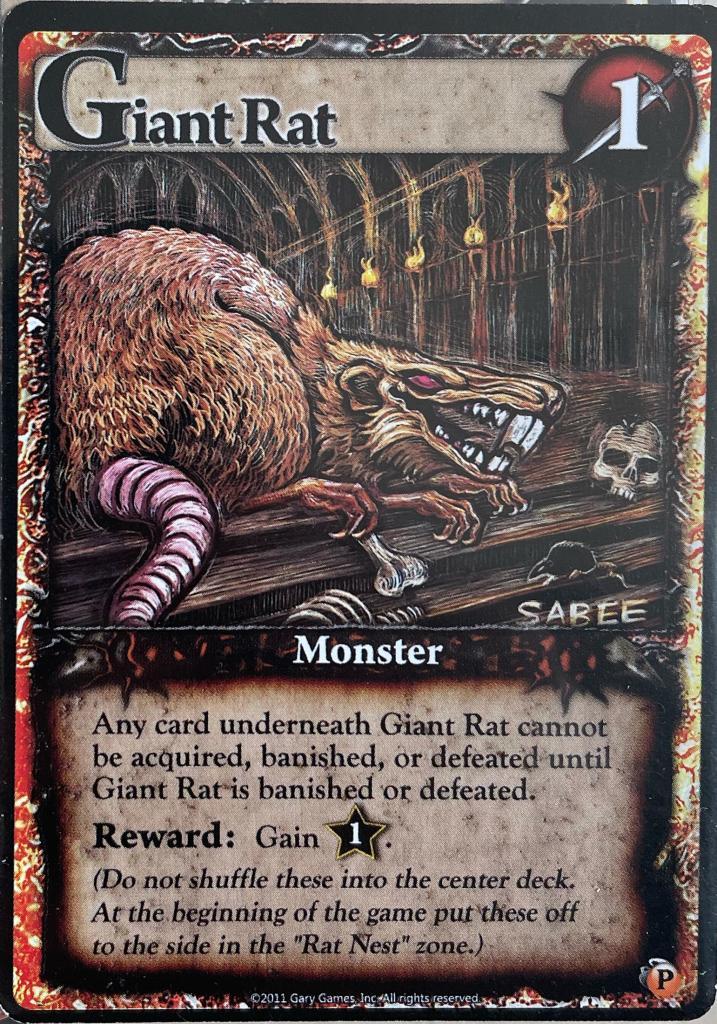 Ascension - Giant Rat
