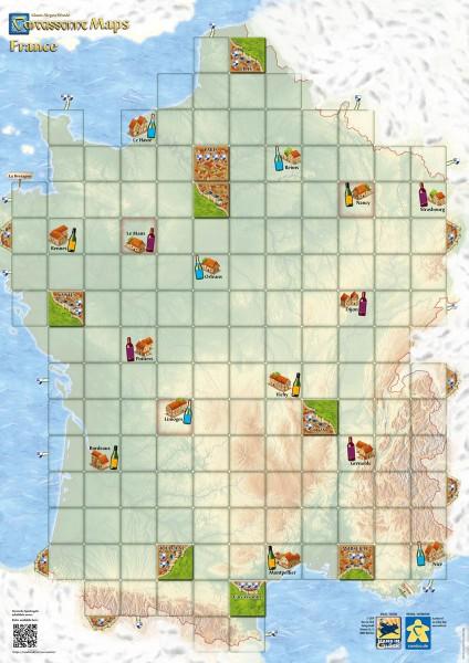Carcassonne - Maps: France