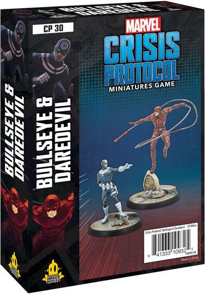 Marvel Crisis Protocol - Bullseye & Daredevil