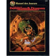 Advanced Dungeons & Dragons - 2ème Edition VF - Manuel Des Joueurs