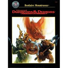 Advanced Dungeons & Dragons - 2ème Edition VF - Bestiaire Monstrueux