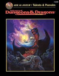 Advanced Dungeons & Dragons - 2ème Edition Vf - Advanced Dungeons & Dragons - Aide Au Joueur : Talents Et Pouvoirs V2.5