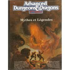 Advanced Dungeons & Dragons - 2ème Edition Vf - Mythes Et Légendes