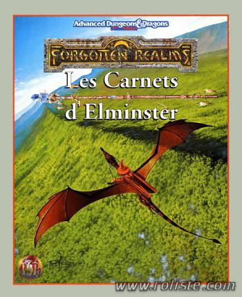 Advanced Dungeons & Dragons - 2ème Edition Vf - Les Royaumes Oubliés : Les Carnets D'elminster