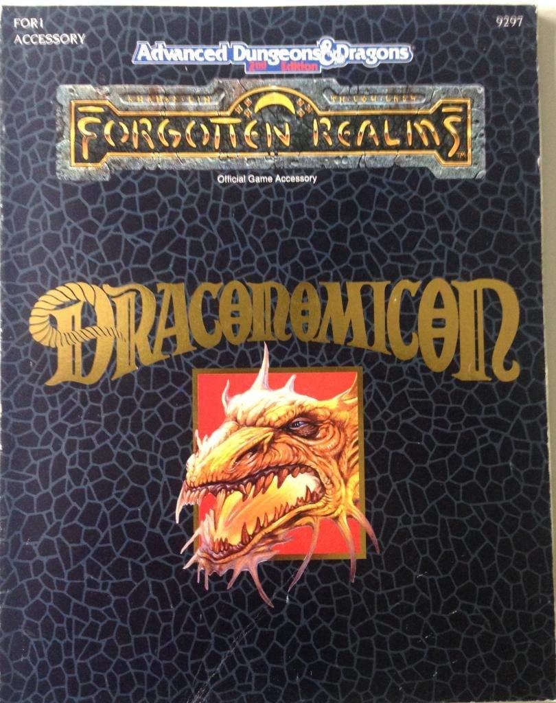 Advanced Dungeons & Dragons - 2ème Edition Vf - Ad&d : Les Royaumes Oubliés : Draconomicon