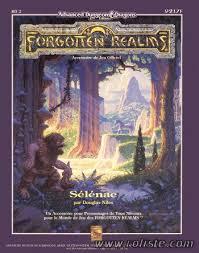 Advanced Dungeons & Dragons - 2ème Edition Vf - Les Royaumes Oubliés : Sélénae