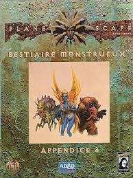 Advanced Dungeons & Dragons - 2ème Edition Vf - Planescape - Bestiaire Monstrueux - Appendice 4