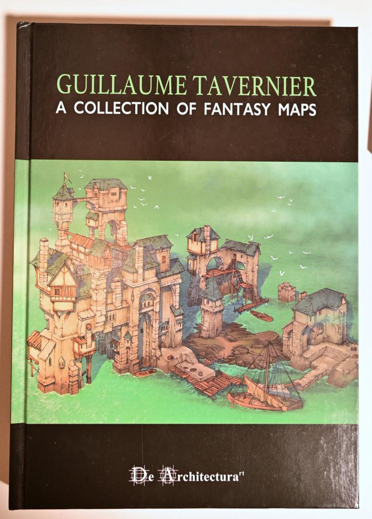 A Collection Of Fantasy Maps - Guillaume Tavernier