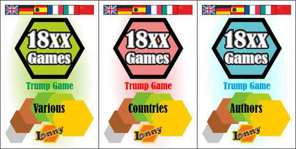18xx Trump Game - Countries