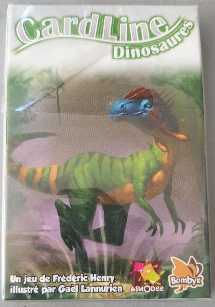 Cardline Dinosaures - Echantillon