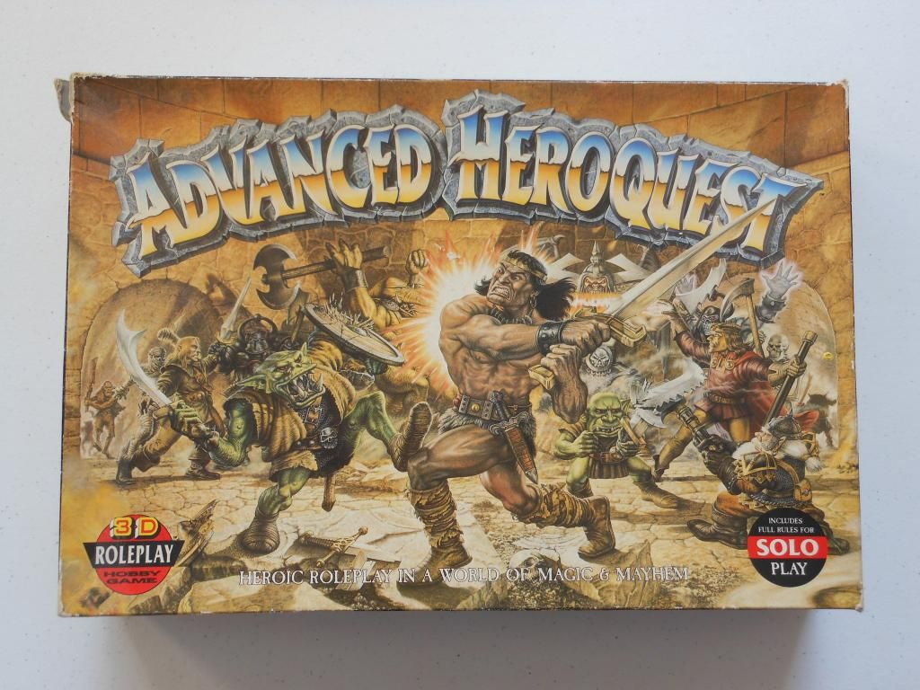 Advanced Heroquest - Pièces Détachées