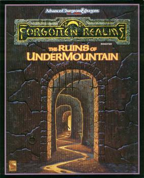 Advanced Dungeons & Dragons - 2nd Edition - The Ruins Of Undermountain